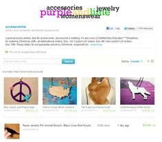 """So what exactly are """"Featured Listings"""" in your Etsy shop and what do they do? They are the four listings near the top of a shop's homepage. In addition to giving your online store a bit of color and excitement, these Featured Listings are"""