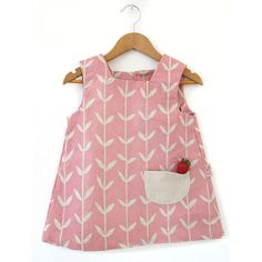Love the shape of this baby smock dress (by Skinnylaminx)
