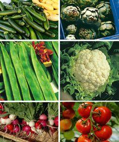 Vegetables of the season