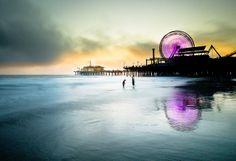Santa Monica Sunset Part 5 by California CPA, via Flickr