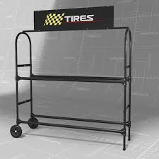 Rolling Tire Storage Rack New Related Image  รถยนต์  Pinterest  Dioramas