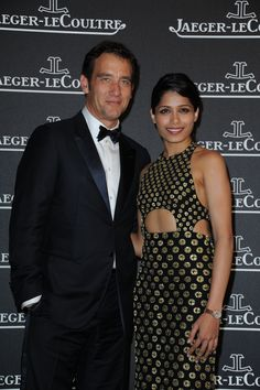 Rendez-Vous in Venice with Freida Pinto and Clive Owen, Jaeger-LeCoultre Gala Dinner, 4th September
