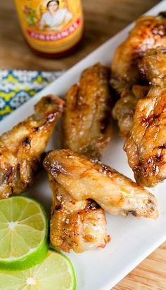 Baked Margarita Chicken wings - These look awesome, I must try these next time we get wings!