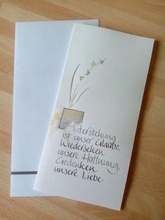 Künstlerkarte zur Trauer, Margit Weiß 2016