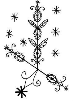 Filomez-St Philomena Voodoo Hoodoo, Voodoo Spells, Wiccan Home, Haiti History, Le Baron, Occult Symbols, Modern Tattoos, Symbols And Meanings, Orisha