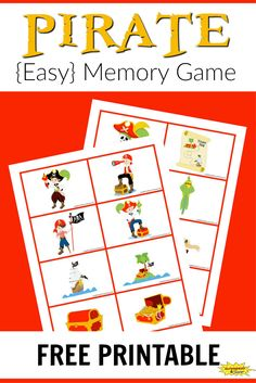 4 Memory Worksheets for Adults Pirate Memory Game Free Printable Learning Ideas √ Memory Worksheets for Adults . 4 Memory Worksheets for Adults . Memory Games for Adults to Improve Mental Strength in Worksheets Pirate Games For Kids, Pirate Preschool, Pirate Activities, Free Activities For Kids, Pirate Crafts, Memory Games For Kids, Free Preschool, Preschool Activities, Printable Games For Kids