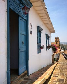 Fachada Colonial, Colombia South America, Four Square, Travel Destinations, Tourism, Places To Visit, Earth, Architecture, City