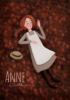 Anne with an E illustration on Behance Anne And Gilbert, Anne Auf Green Gables, Amybeth Mcnulty, Anne White, Anne With An E, Beloved Book, Anne Shirley, Kindred Spirits, Diana