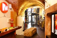 The Merrell flagship store in Portugal is located in Lisbon's Baixa district.