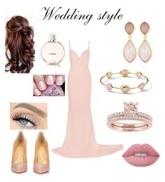 """Wedding style"" by agu-bernardez on Polyvore featuring moda, STELLA McCARTNEY, Christian Louboutin, Dina Mackney, Ippolita, Lime Crime, OPI y Chanel"