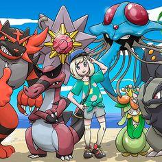 Pokémon Luna Nuzlocke - FULL TEAM