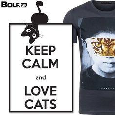 Čo poviete na toto odvážne tričko s potlačou?..Miau :)