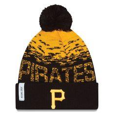 ffe74f96 Pittsburgh Pirates New Era 2016 MLB Clubhouse Sport Knit Hat Pirate Hats,  Kids Hats,
