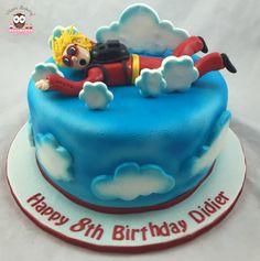 Sky diving cake, i fly cake, ifly houston
