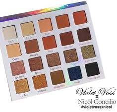 Shop Violet Voss x Nicol Concilio Eye Shadow Palette at LadyMoss.com!