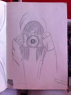 My art draw picture taking