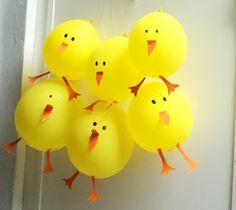 Globos Pollito :: Chicks Balloons