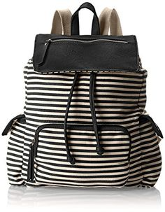 Madden Girl Btrendee Drawstring Flap Backpack f0d4f007d0a11