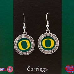 Collegiate Jewelry, University of Oregon Silver Tone Round Earrings with Logo in Center and Framed By Crystal Rhinestones. Oregon, http://www.amazon.com/dp/B007ASSW8C/ref=cm_sw_r_pi_dp_pL2Ypb1AF29QH