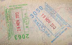Dominican Republic passport stamp - Google Search