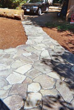 flagstones: Trout Creek stepstones example