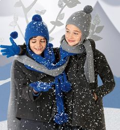 Para cuando llegue el frío: gorros y bufandas de Cóndor.