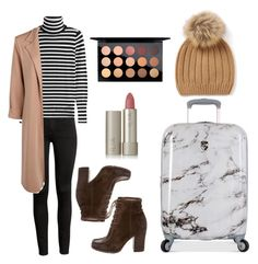 """""""Untitled #450"""" by syshrn on Polyvore featuring Steffen Schraut, Boohoo, Frye, Heys, MAC Cosmetics and Ilia"""