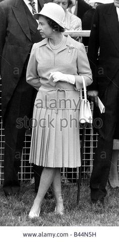 Queen Elizabeth II 1978, June 27 Epsom Derby