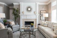 Transitional Living Room - traditional - Living Room - Dallas - Chambers Interiors & Associates, Inc.