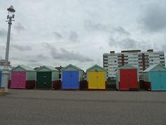 Sea promenade in Brighton