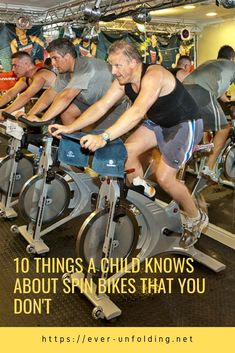 10 Things A Child Knows About spin bikes That You Don't Indoor Cycling Bike, Cycling Bikes, Road Cycling, Spin Bike Workouts, Fun Workouts, Cycling Workout, Workout Gear, Swimming Tips, Swimming Workouts