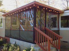 Clear Vinyl Plastic Panel Enclosures | For Porch & Patio