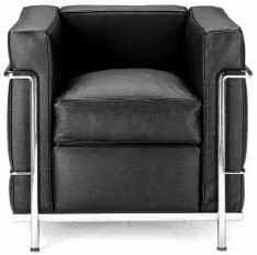 Sessel LC2 von Le Corbusier (Einsitzer, easy chair, armchair)