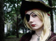 Pirate girl by NAkos.deviantart.com on @deviantART