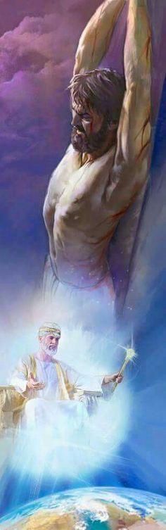 Gesu è  re in cielo