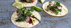 Grilled Veggie Tacos with Avocado Cream Recipe | The Chew - ABC.com