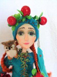 Марина Соболева автор кукол из полимерной глины