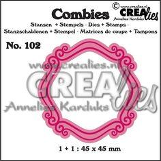 Combies stansen+stempel / dies+stamp no. 102, Frame B