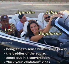Zodiac Sagittarius Facts, Aquarius And Libra, Zodiac Sign Traits, Zodiac Signs Sagittarius, Zodiac Star Signs, My Zodiac Sign, Zodiac Facts, Zodiac Funny, Zodiac Memes