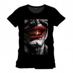 Batman - Joker Smile T-Shirt - Black