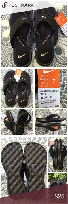 Nike Sandals - NWOT Nike Sandals - Casual, comfortable, and fashionable is all you need for this Summer season! This brand is a member of the Sustainable Apparel Coalition. Textile upper provides excellent breathability. Memory foam offers the ultimate in comfort! Nike Shoes Sandals