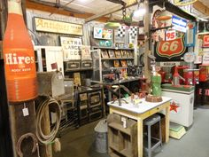 """Vintage to Antique merchandises in *BOOTH 95*...the perfect """"Mantique"""" for any Man Cave"""
