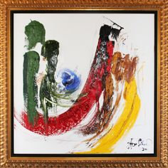JD Miller | Power Trip | 3D Oil on Canvas | 48 x 48 | Samuel Lynne Galleries samuellynne.com