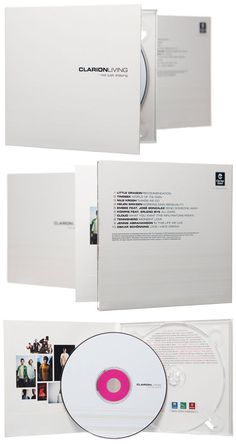 Clarion Hotel CD packaging design by RBRT Creative Cd Cover Design, Cd Design, Album Design, Graphic Design, Cd Packaging, Packaging Design, Pochette Cd, Photo Packages, Book Layout