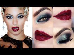 Beyoncé Haunted Makeup Tutorial - Maquiagem Diva Beyoncé