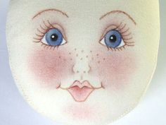 Tutorial for face on a cloth doll