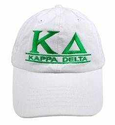 Kappa Delta Line Hat SALE $18.95. - Greek Clothing and Merchandise - Greek Gear® yes please