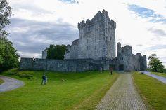 Ross Castle by schnitzgeli1, via Flickr Tower Bridge, Mount Rushmore, Castle, Louvre, Mountains, Building, Nature, Travel, Ireland