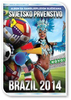 Svjetsko Prvenstvo Brazil 2014 Fifa World Cup, Brazil, Picture Cards