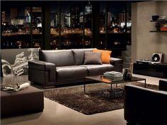 Natuzzi Sofas METROPOLE Dream Apartment, Designer, Design Inspiration, Couch, Furniture, Brooklyn, Home Decor, Wood And Metal, Decorating Kitchen